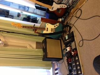 ギターのレコーディング!