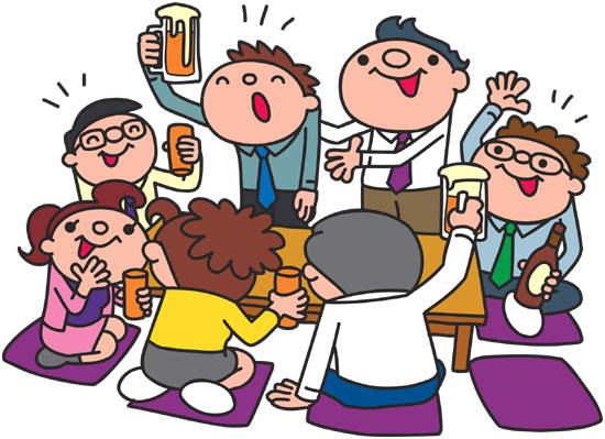 今日も飲み会・・・・美里町商工会女性部 通常総会