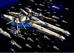 永遠のプリンセス号と麾下の艦隊