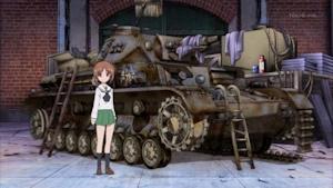 一台だけあったⅣ号D型戦車