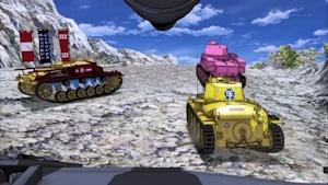 他の戦車は無茶苦茶