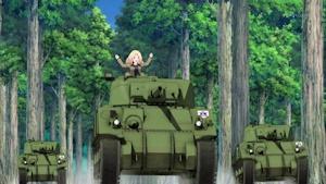 進撃するケイのM4軍団