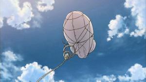 無線傍受のバルーンを発見
