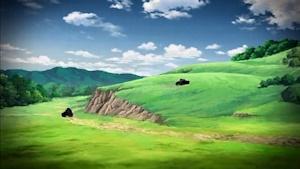 丘に登って狙撃を試みる