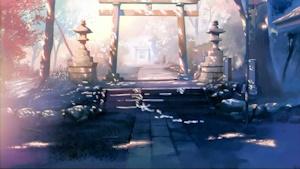 チョビとミミのいた神社