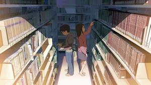 図書館の二人