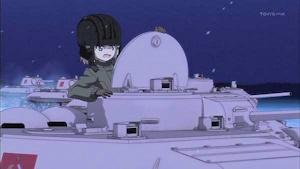 T34のキューポラに立つカチューシャ