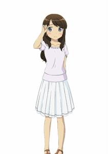 眼鏡なしの麻奈美(大学生)