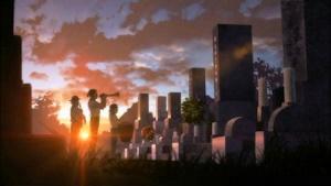 黄昏のまひるの墓で演奏