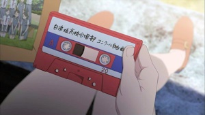 写真の他にテープが