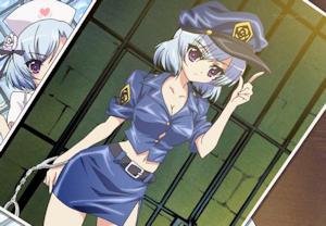 警官姿のアンリエット