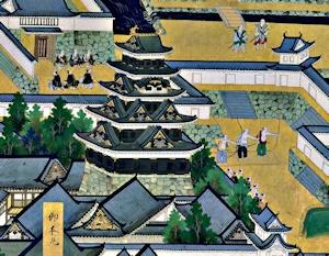 かつての江戸城天守