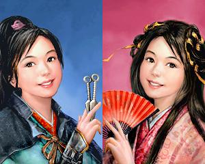 瓊英その5(武将版と姫版)