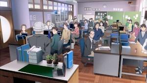 職員会議で廃校を通達
