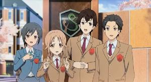 日本の4人