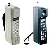 初代と二代目の携帯電話