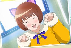 富美子のネココスプレ
