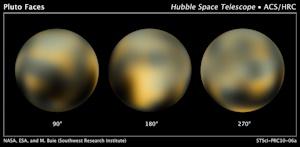 ハッブル望遠鏡が捉えた冥王星