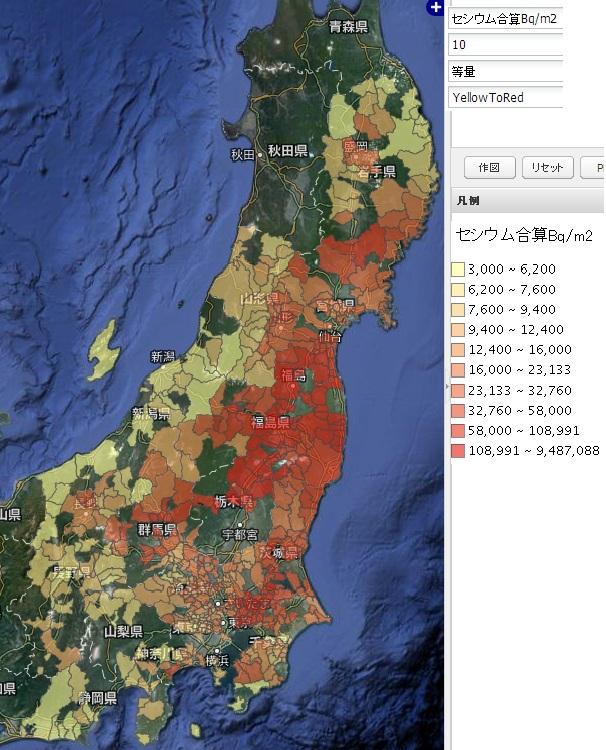 東日本農地土壌マップ3