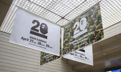 BAPE20周年アニバーサリーエキシビション