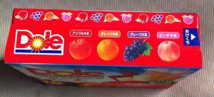 doleもりだくさんフルーツ側面