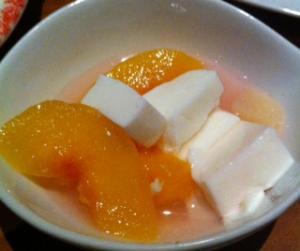 土間杏仁豆腐