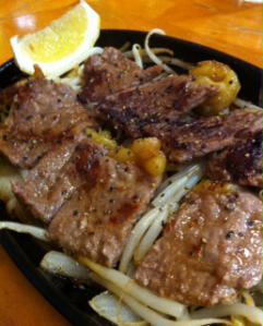 韓国食堂ステーキ