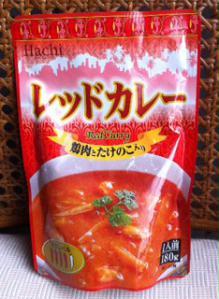 HACHI Red Curry パッケージ