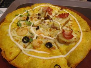 seoul 明洞pizza