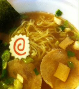 青葉カップ麺完成
