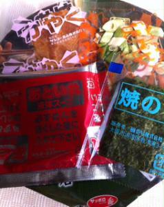 青葉カップ麺中袋