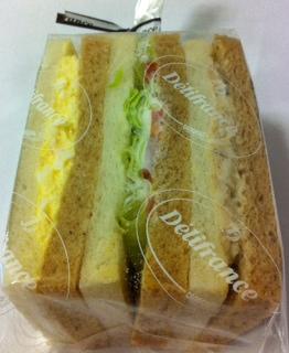 デリフランス3色サンド