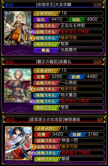 賽振りSSR・SR
