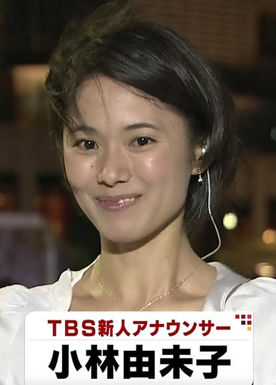 小林由未子 TBS新人アナウンサーキャプ画像(エロ・アイコラ画像)