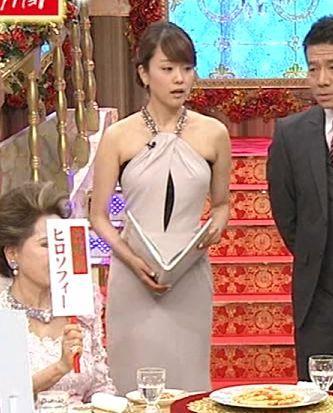 本田朋子 セクシードレスキャプ画像(エロ・アイコラ画像)