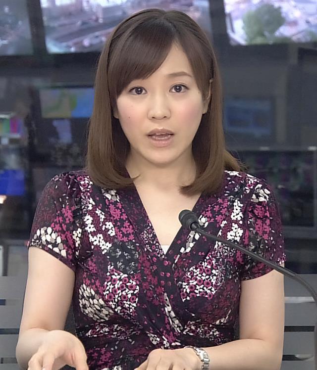 江藤愛  綺麗な二の腕キャプ画像(エロ・アイコラ画像)