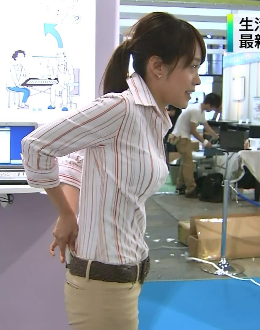 片山千恵子 横乳&パンツ透けキャプ画像(エロ・アイコラ画像)