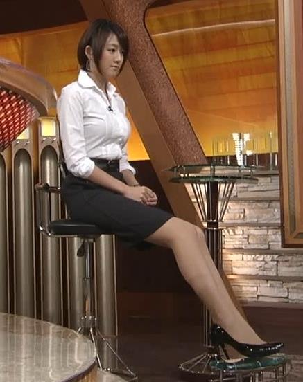 大島由香里 巨乳ぴちぴちシャツキャプ画像(エロ・アイコラ画像)