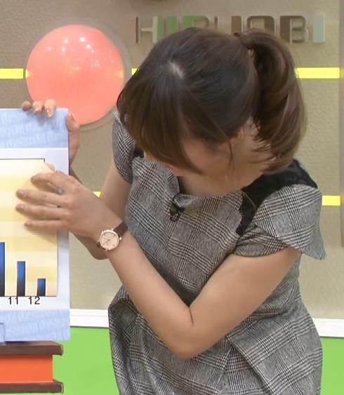 枡田絵理奈 前かがみセクシーキャプ画像(エロ・アイコラ画像)