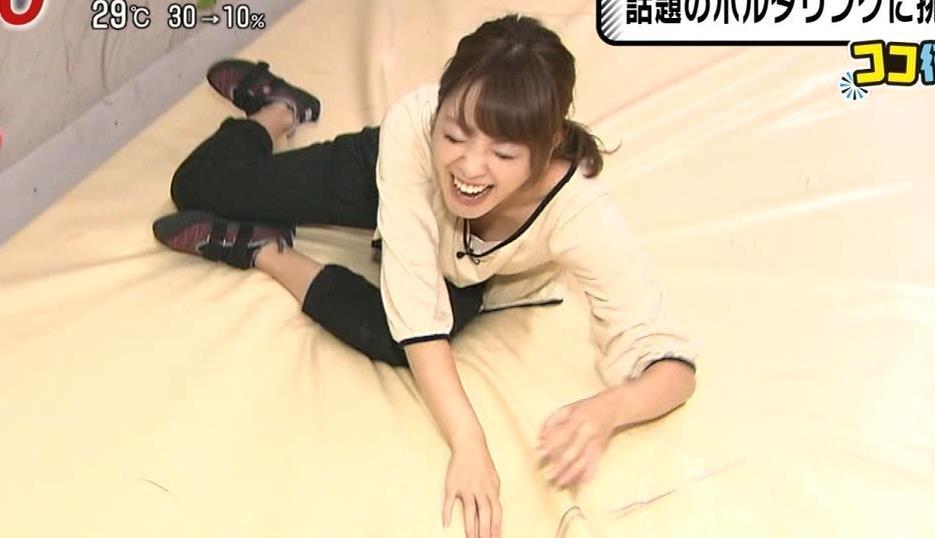 三上真奈 フジ新人アナが早速胸ちらキャプ画像(エロ・アイコラ画像)