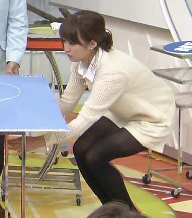 枡田絵理奈 黒パンストがエロイイキャプ画像(エロ・アイコラ画像)