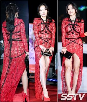 韓国女優 ハンセア(한세아) 緊縛ファッション 2