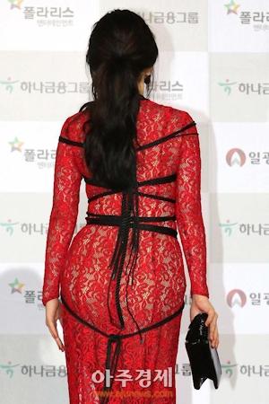 韓国女優 ハンセア(한세아) 緊縛ファッション 6