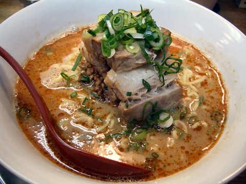 叉焼担々麺(白胡麻)@まるたん