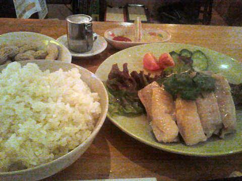 海南鶏飯(ハイナンチーファン)@ケニーアジア