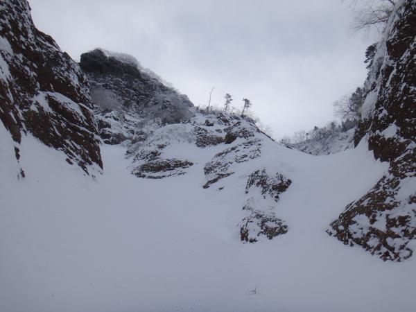 2014.1.4 八ヶ岳 横岳「日ノ岳稜」 - のらクライマー