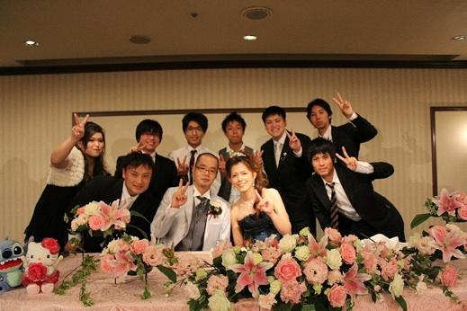 フットサルチーム 豊橋スピッツfc 早川哲平結婚式