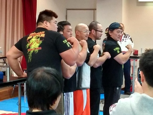 ≪AJAF第25回オール栃木オープンアームレスリング選手権大会≫へ!②