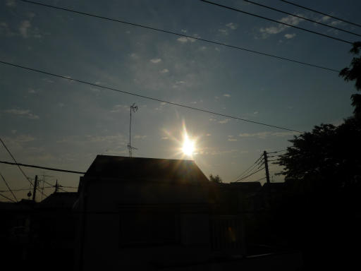 20120521・金環日蝕01・5:51