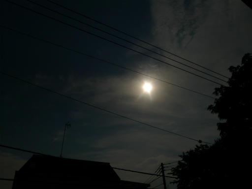 20120521・金環日蝕08・7:45